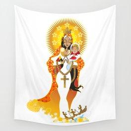 La Virgen de la Caridad del Cobre Wall Tapestry