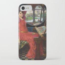 I am Half-Sick Of Shadows Lady of Shalott By John William Waterhouse iPhone Case