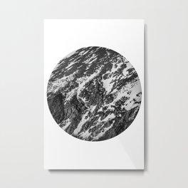 Moving Mountains | Rocky Mountains Metal Print