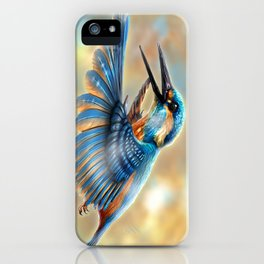 Kingfisher iPhone Case