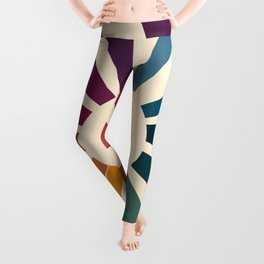 Retro Blossom Leggings