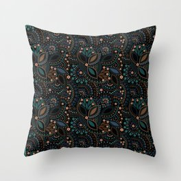 Scattering of beads . 2 Throw Pillow