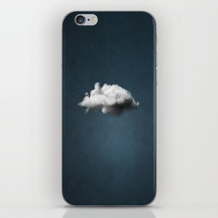 WAITING MAGRITTE iPhone Skin