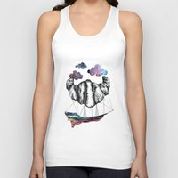 led zeppelin Tank Tops featuring Intergalactic Zeppelin by jsemKamm