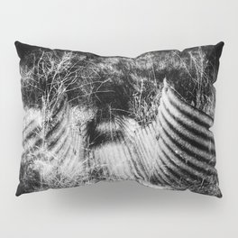 Creepy Runoff Drain Pillow Sham