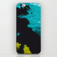 shadow of the colossus iPhone & iPod Skins featuring Shadow Of The Colossus Minimalist Cloudy Poster by LoweakGraph