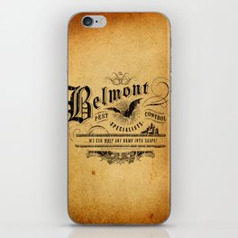 Belmont Pest Control Specialists iPhone Skin