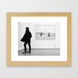 Coincidence Framed Art Print