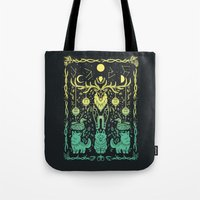 balance Tote Bags featuring Balance by Shirley Jackson