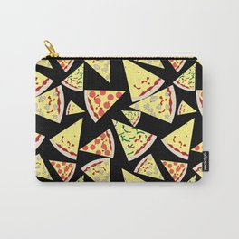 Fun Dynamic Random Pattern Pizza Lover Carry-All Pouch