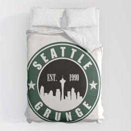 Seattle Grunge Duvet Cover