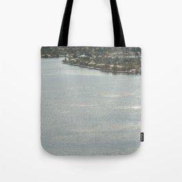 Biscayne Bay Skyline Tote Bag