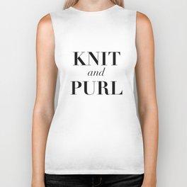 Knit & Purl Biker Tank