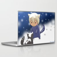 conan Laptop & iPad Skins featuring Detective Conan by Black Wing