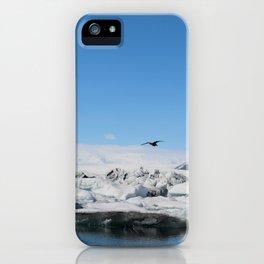 Gliding iPhone Case