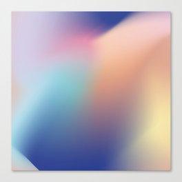 Gradient flow Canvas Print