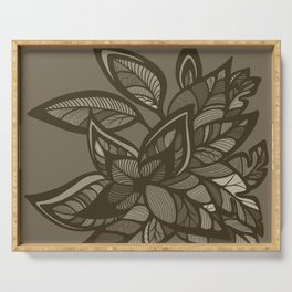 Let Love Grow - Cocoa Serving Tray