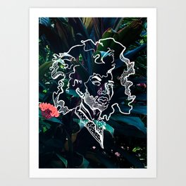 Fro Luxuriant Art Print