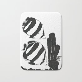 Angel Fish Art - Little Angels - By Sharon Cummings Bath Mat