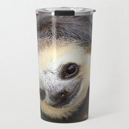 Three-toed sloth at Green Heritage Fund Suriname Travel Mug