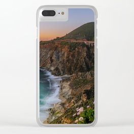 Bridge Coastal Cove Clear iPhone Case