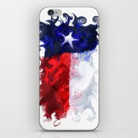 texas iPhone & iPod Skins featuring Texas by Lyndi May
