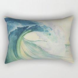 Incoming Energy Wave Rectangular Pillow