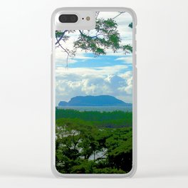 Turtle Island Clear iPhone Case