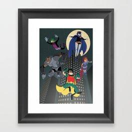Teen Titans Framed Art Print