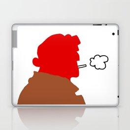 HB silhouette Laptop & iPad Skin