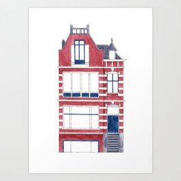 Dutch house Art Print
