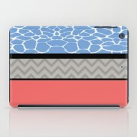 preppy iPad Cases featuring Confused Preppy Prints by Raizhay Lough