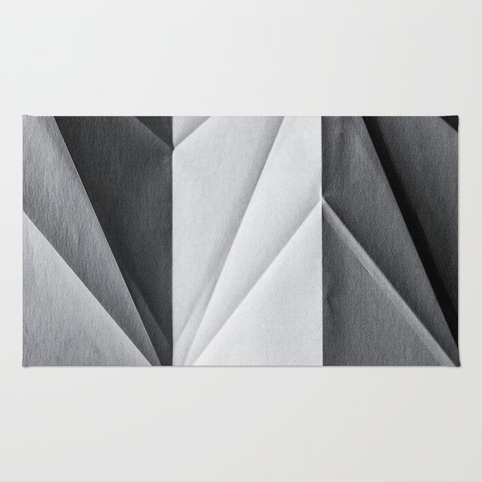 Folded Paper 1 Rug