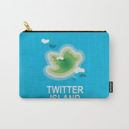 Twitter Island Carry-All Pouch