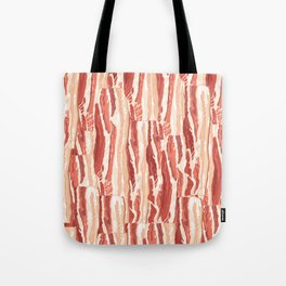 Bacon pattern Tote Bag