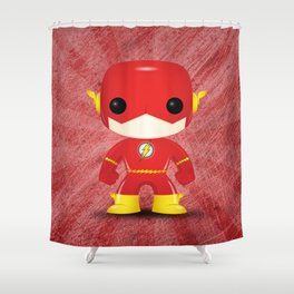 Flash Funko Shower Curtain