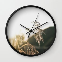 Field of Gold  Wall Clock