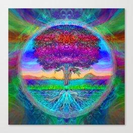 Everlasting Wonder Tree of Life Canvas Print