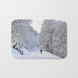 Winter Trail Bath Mat