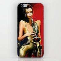 jazz iPhone & iPod Skins featuring jazz by tatiana-teni