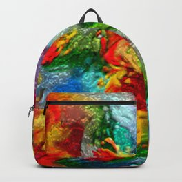 Magic Carpet Ride Abstract Backpack