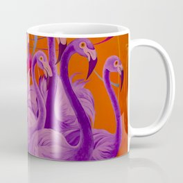 Purple Flamingo Coffee Mug
