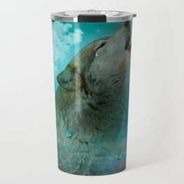 I'll See You In My Dreams (Cry of the Wolf) Travel Mug