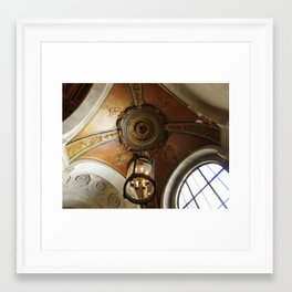At The New York Public Library Framed Art Print