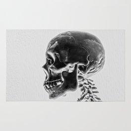 X-Ray Skull Rug