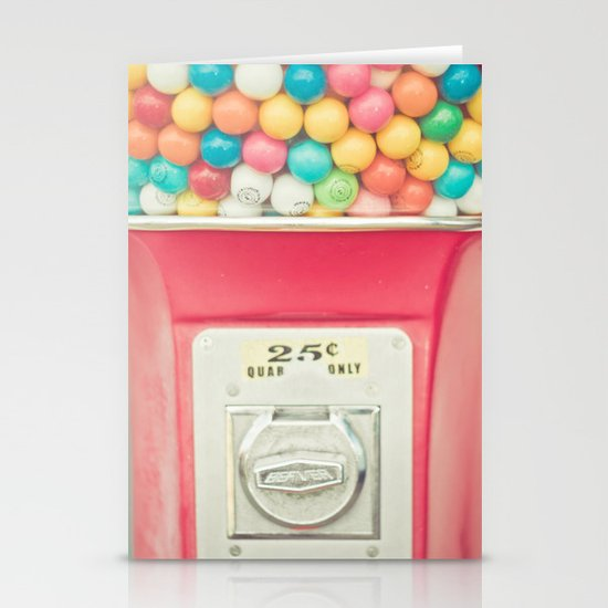 Rainbow Bubblegum Stationery Cards