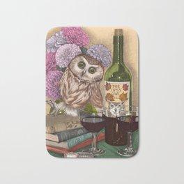 The Tipsy Owl Bath Mat