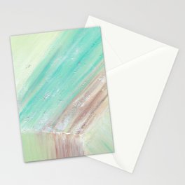 Mineralogy 1: Green Calcite Stationery Cards