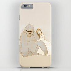 Gorilla and Girl Slim Case iPhone 6s Plus