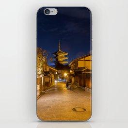 Yasaka-no-to Pagoda iPhone Skin